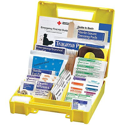 926884-8 First Aid Kit, Kit, Plastic Case Material, Vehicle