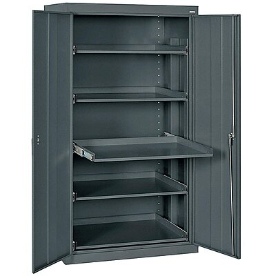 Storage Cabinet,66 In.,Steel,