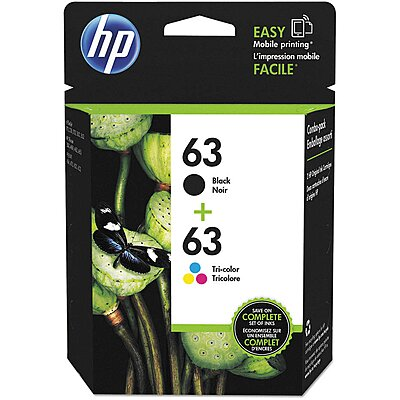 Ink Cartridge,Black/Tri-Color,