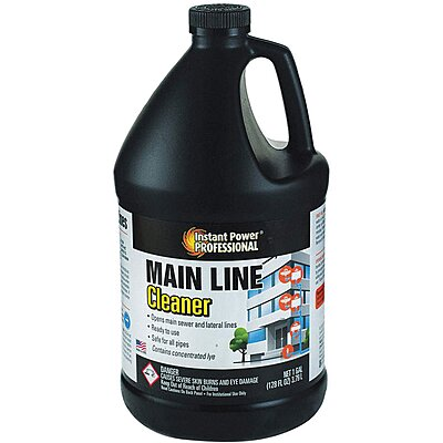 Main Line Cleaner,1 Gal.,