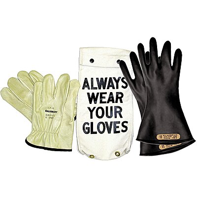 Insulated Gloves,SIZE10,Black
