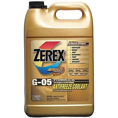 910935-4 Antifreeze Coolant, 1 gal , Plastic Bottle, -34