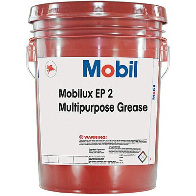 912318-7 Mobilux® EP 2 Tan Lithium Extreme Pressure Grease