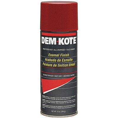 Spray Paint, Safety Red,10 Oz.