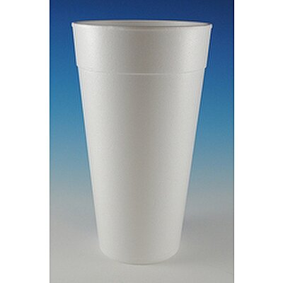 Cup, Disposable,White,42OZ