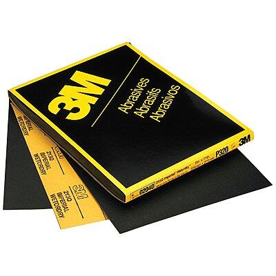 3M 02036 Wetordry Abrasive Sheet P600 Grit 9 in x 11 in 50 sheets