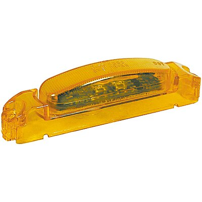 Yellow Lens Grote 46933 Yellow SuperNova Thin-Line LED Clearance Marker Light Body
