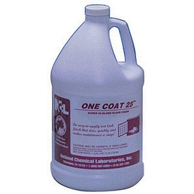 85580 Ncl One Coat 25 Floor Wax 1 Gallon Jug Super High