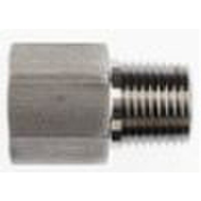 Steel Straight Adapter 1/2X1/2