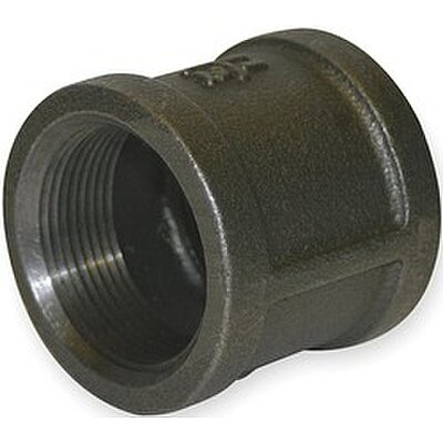 HD Blk Coupling 3/8