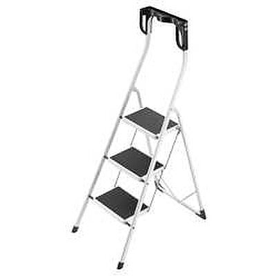 Folding Step Stool, 3 Steps