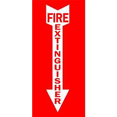 Safety Sign, Fire Extinguisher
